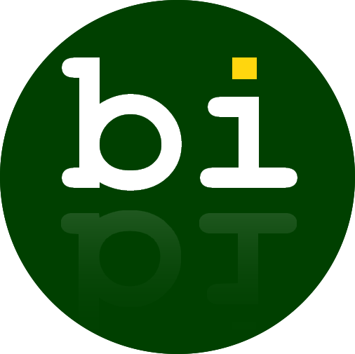 logo of bibisco novel writing software